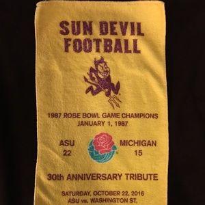 ASU SUN DEVILS ROSE BOWL ANNIVERSARY TOWEL